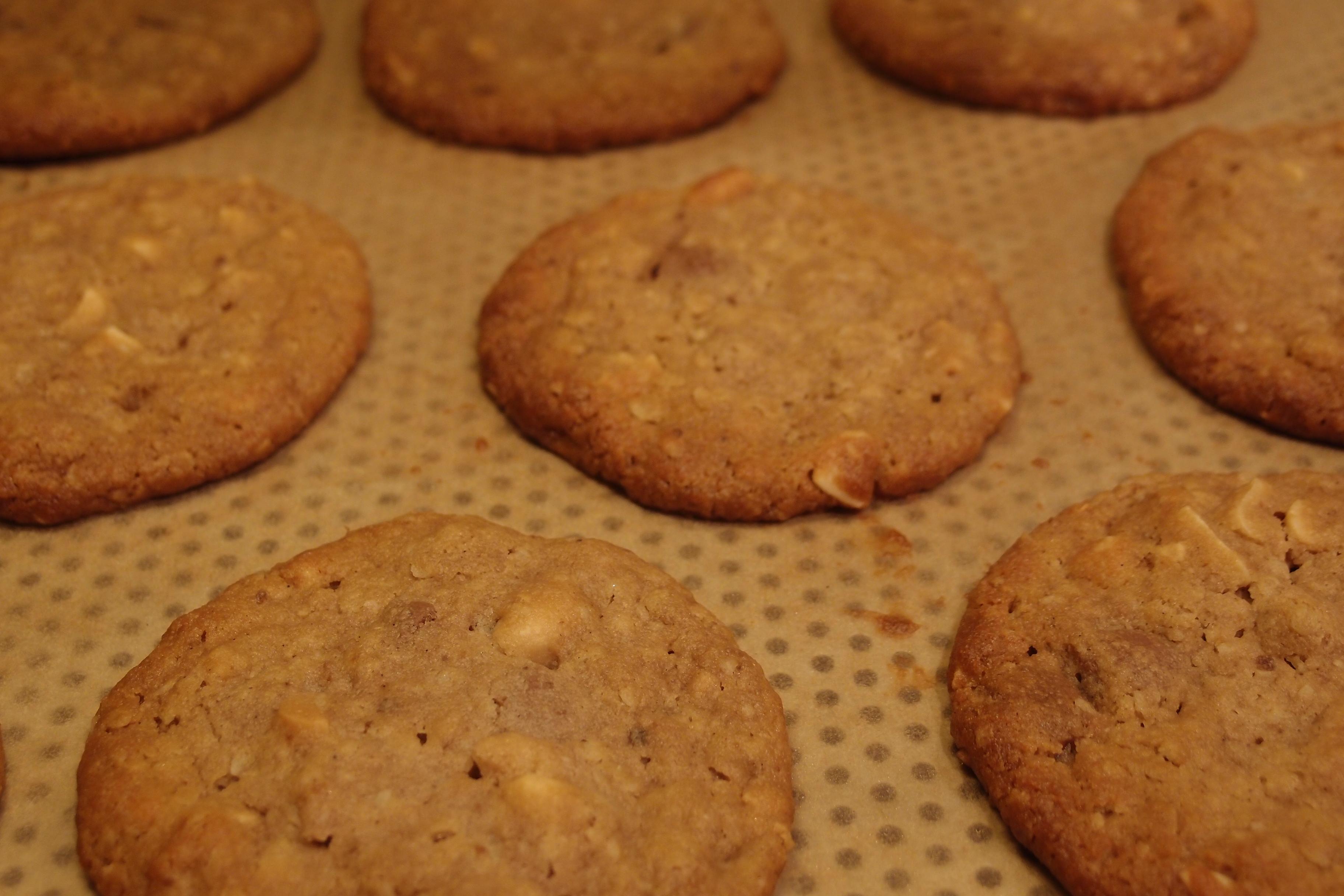 nyttiga kakor med jordnötssmör