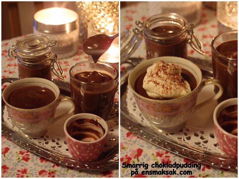 chokladpudding recept utan maizena