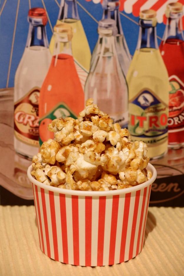 Karameliserade saffranspopcorn! www.ensmaksak.com