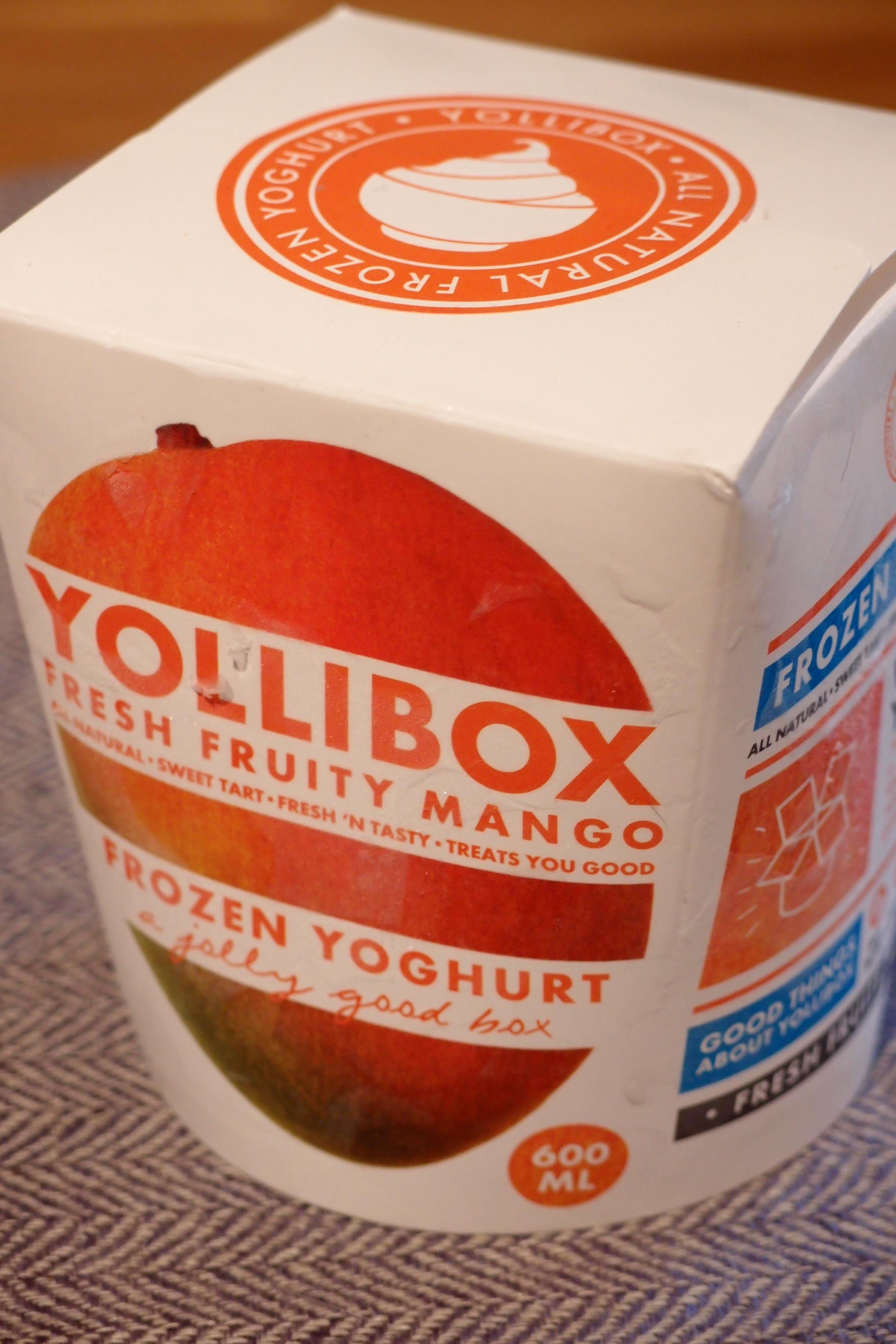 frozen yoghurt ica