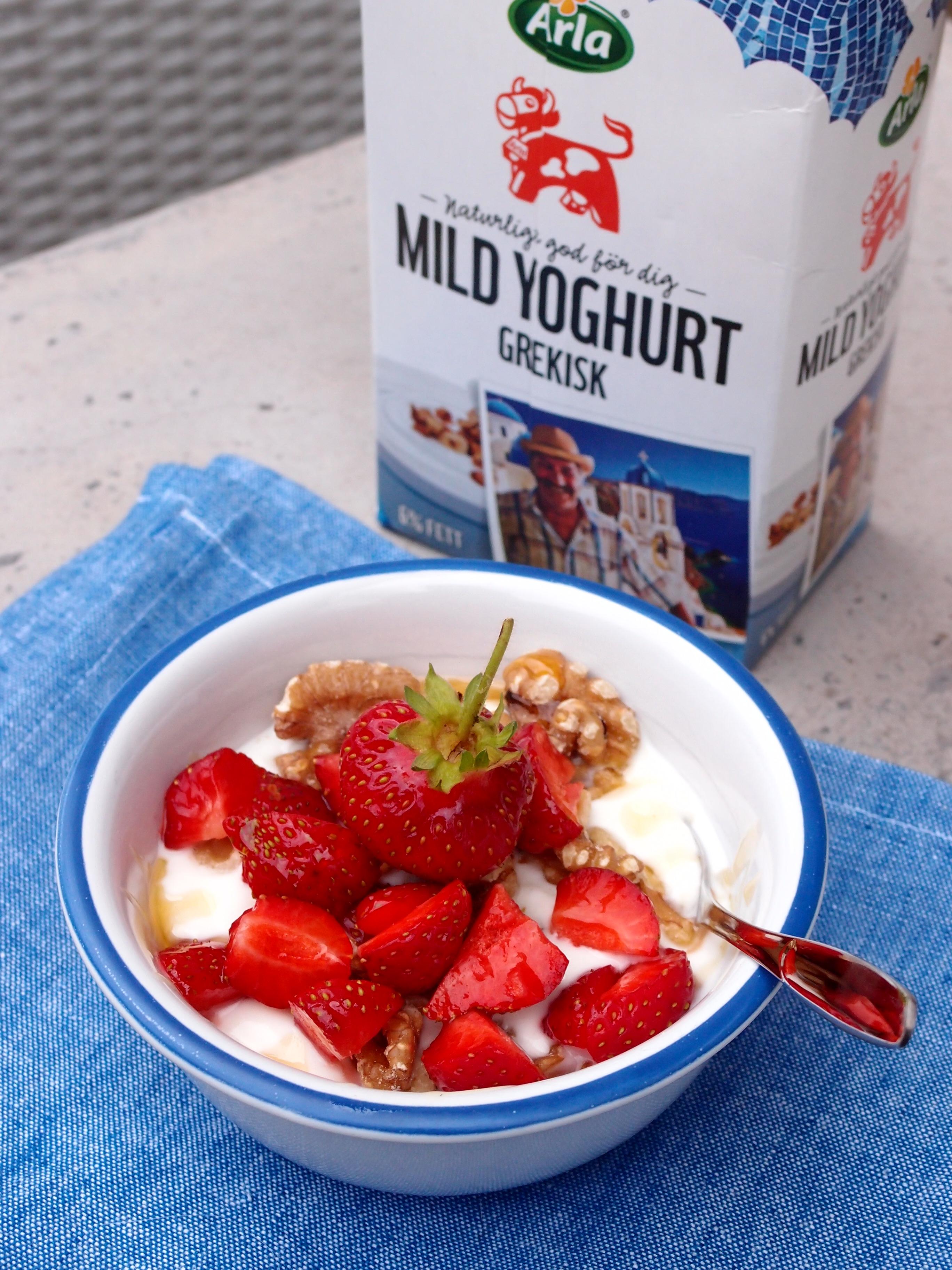 grekisk yoghurt nyttigt