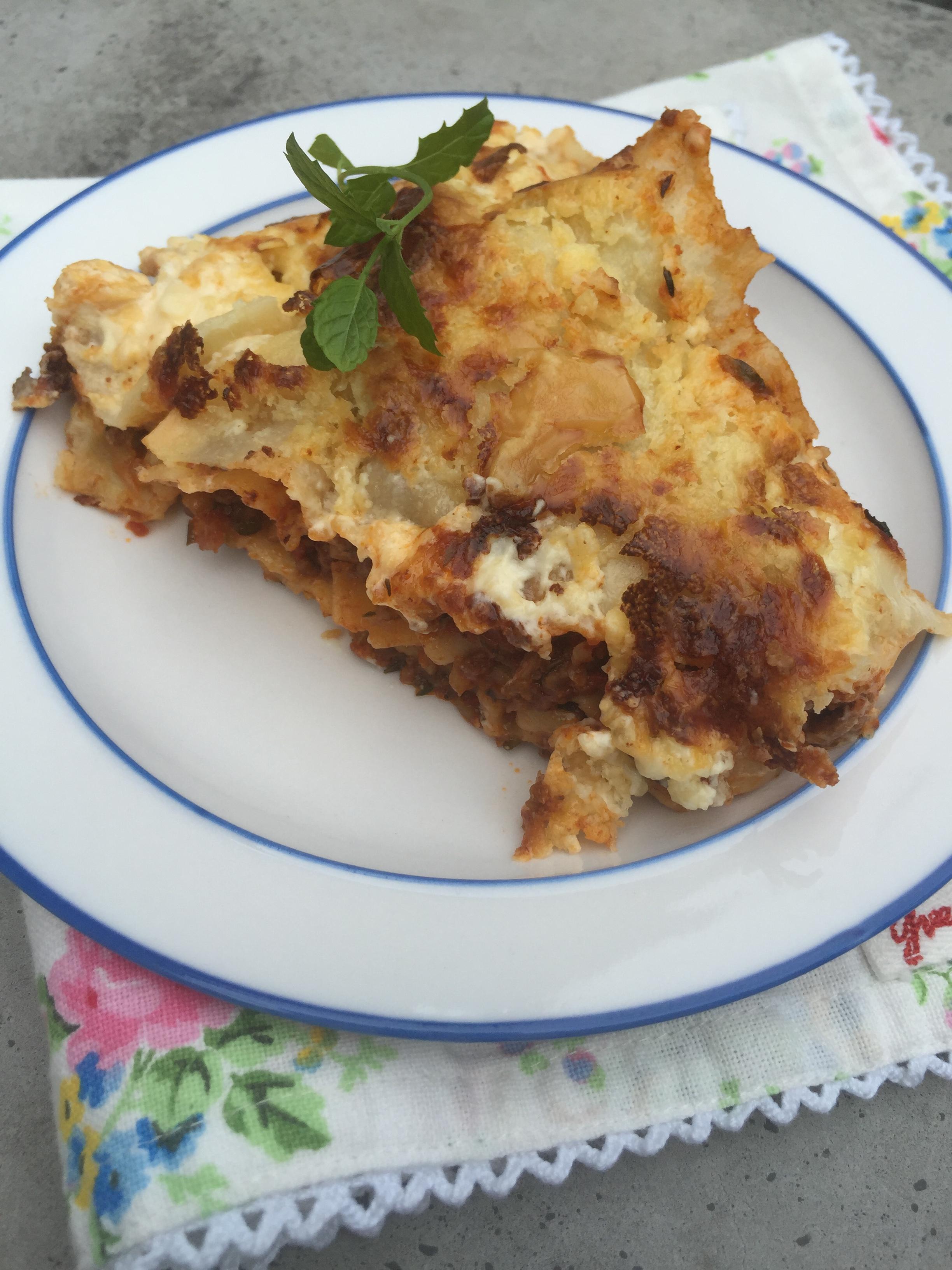 lasagne utan ostsås